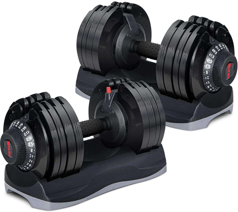 Merax Deluxe Adjustable Dumbbells