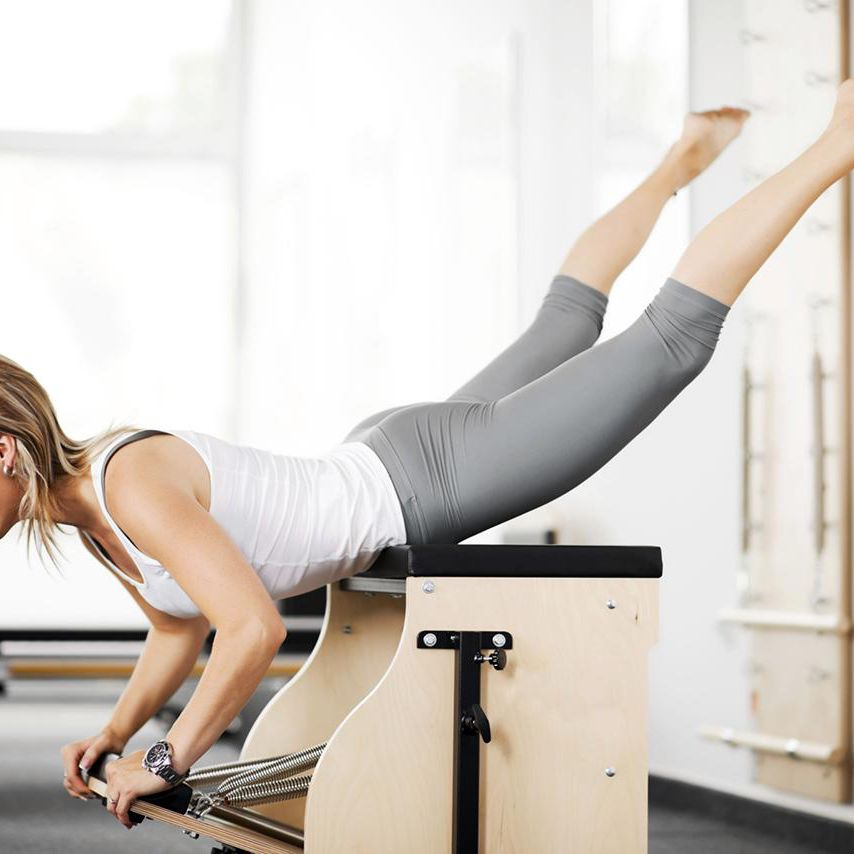 Examples of Pilates Eccentric Contraction
