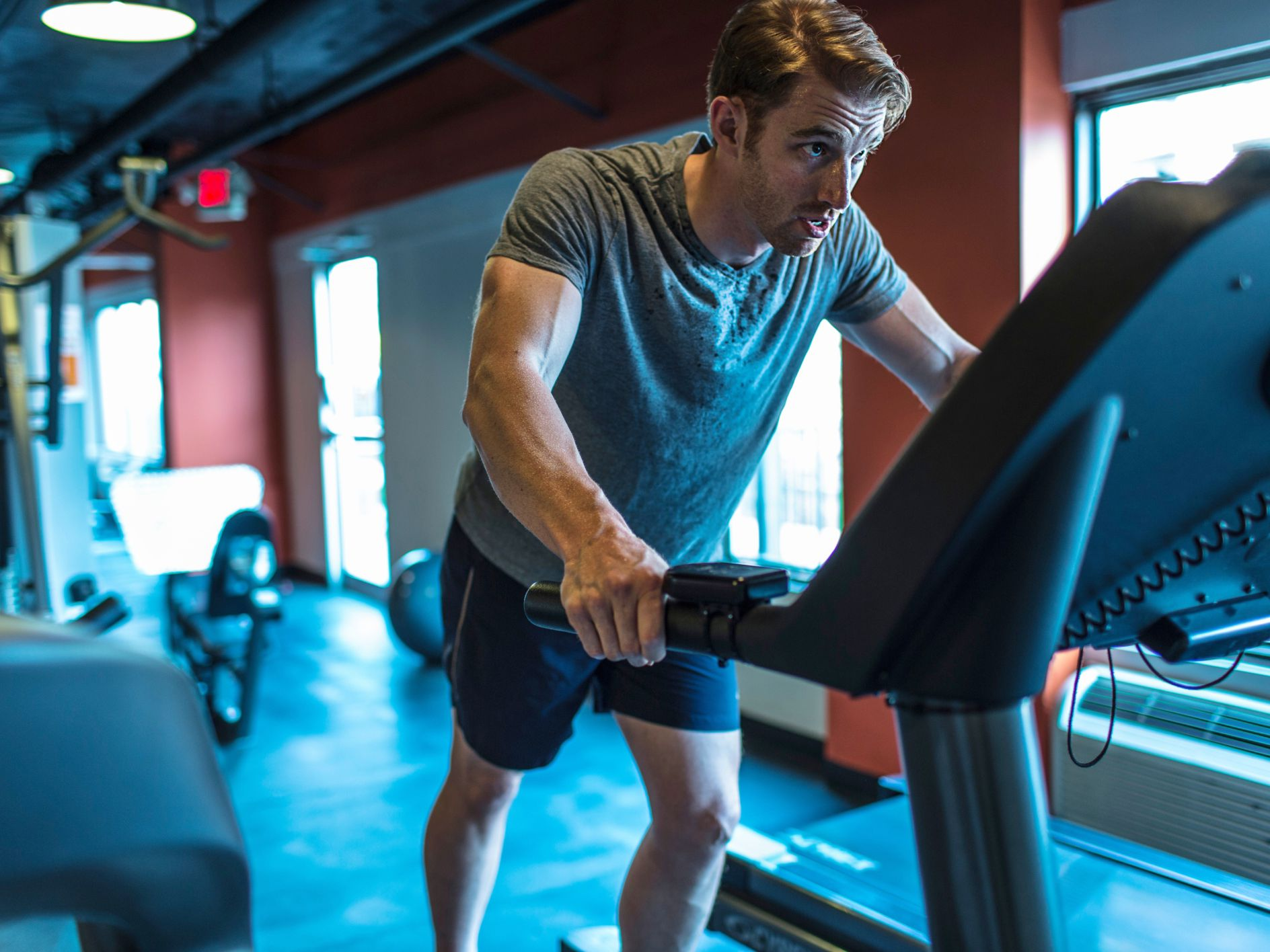 Stop Holding the Handrails on the Treadmill
