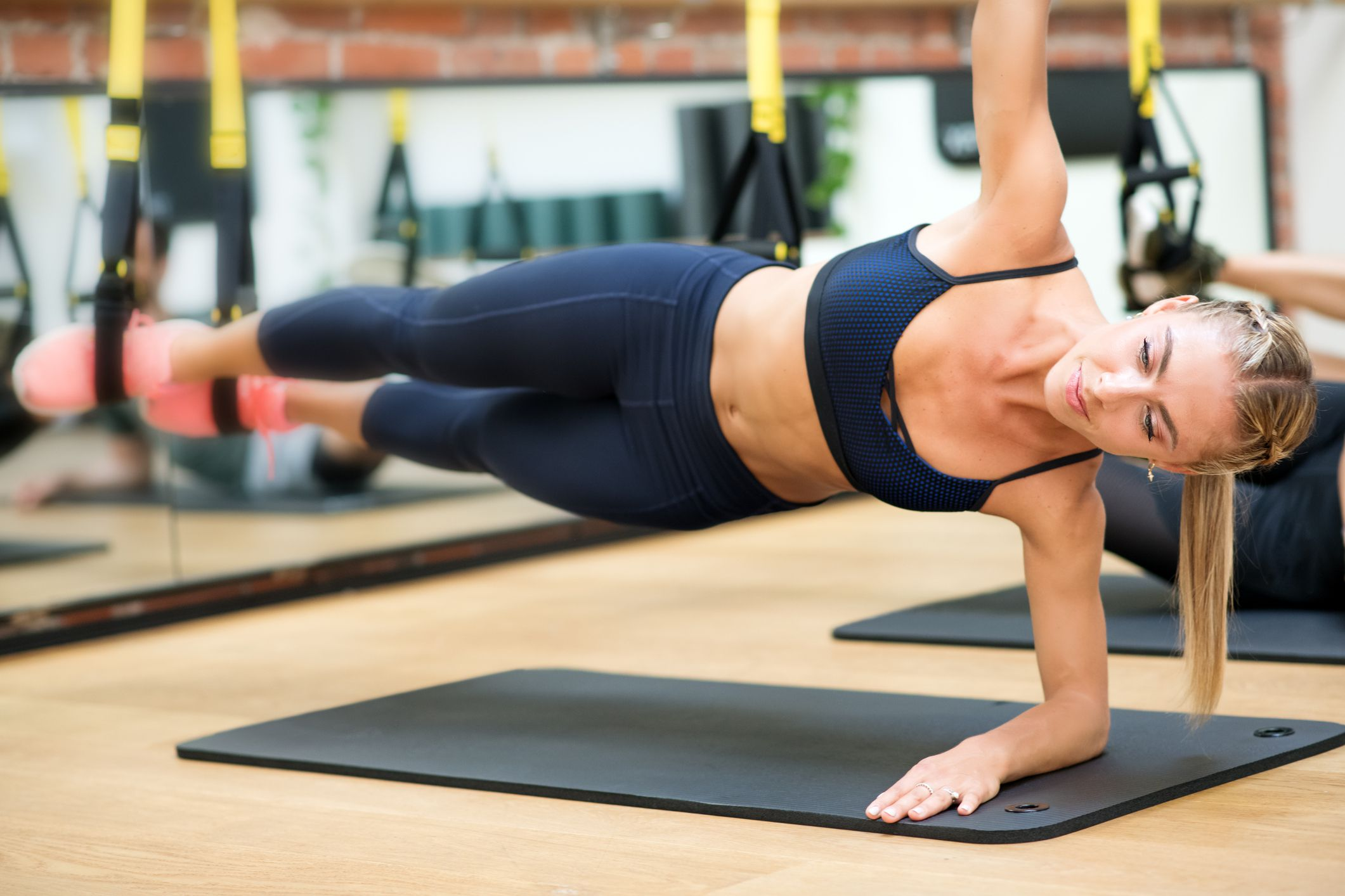 How to Perform the TRX Side Plank