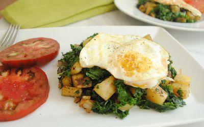 Kale Potato Hash