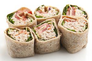 Tuna Salad Wrap Sandwich