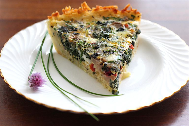 low fodmap quiche