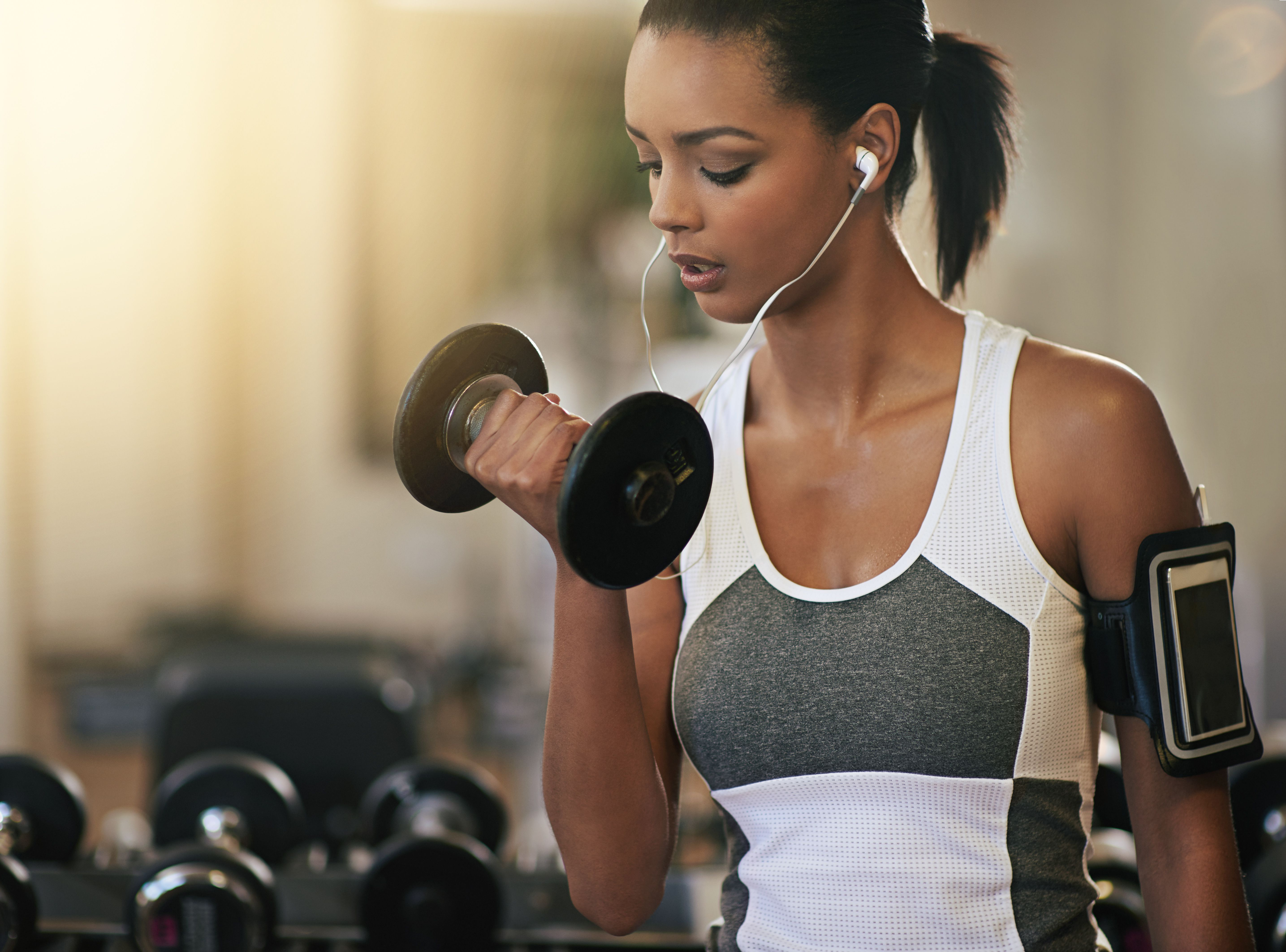 Why Gaining Weight When Strength Training Happens