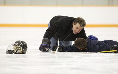 injured hockey players
