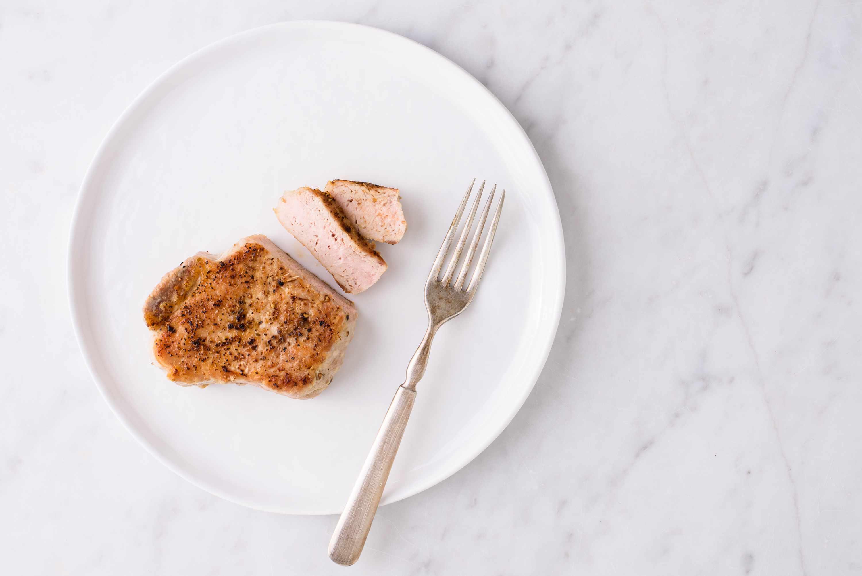 pork tenderloin on plate