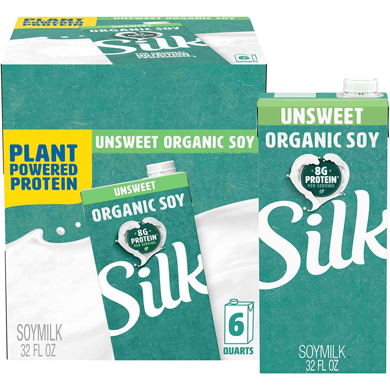 Silk Unsweetened Organic Soymilk