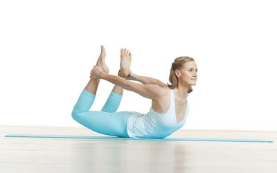 pilates dart back strengthening exercise