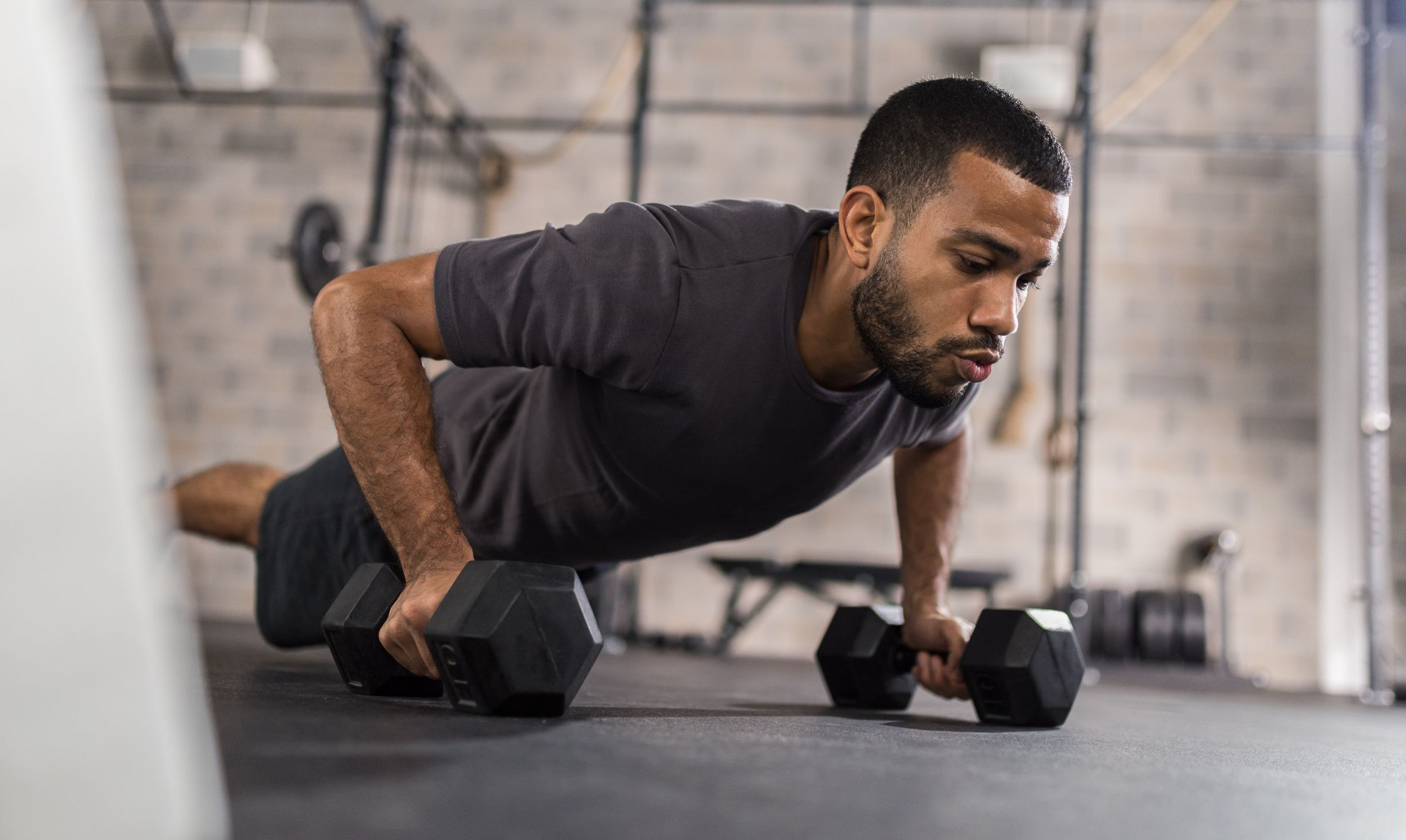 a free weight workout that includes 8 to 10