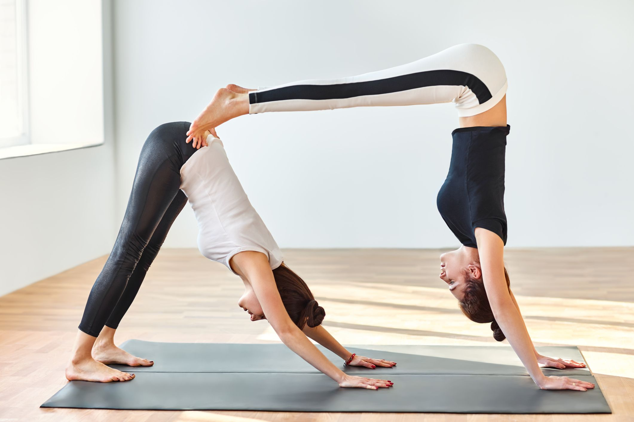Hard Yoga Poses With Partners