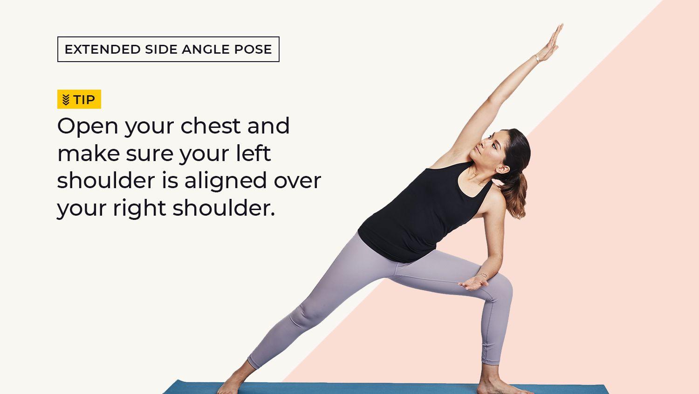 How To Do Extended Side Angle Utthita Parsvakonasana
