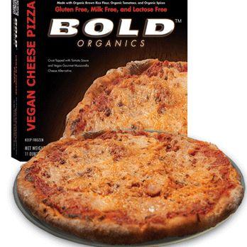 Bold Organics vegan cheese pizza