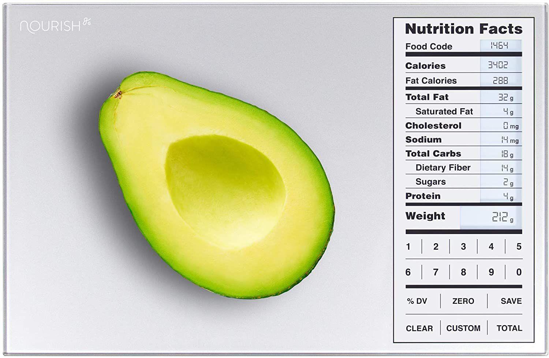 Greater Goods Nourish Digital Kitchen Food Scale