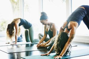 Yoga Fitness Stretching Class
