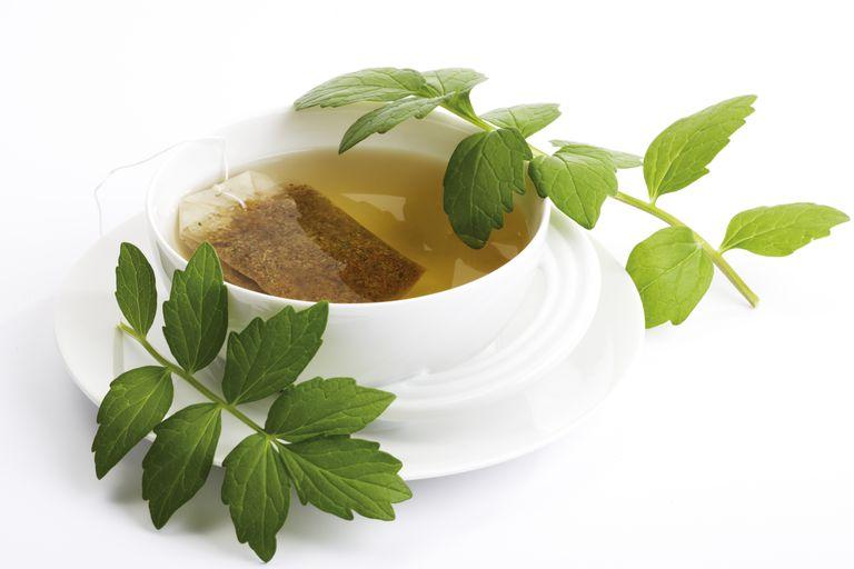 'Valerian tea, Valeriana officinalis'