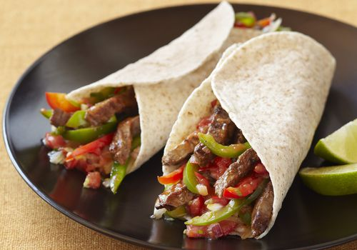 Low-Carb Beef Fajitas