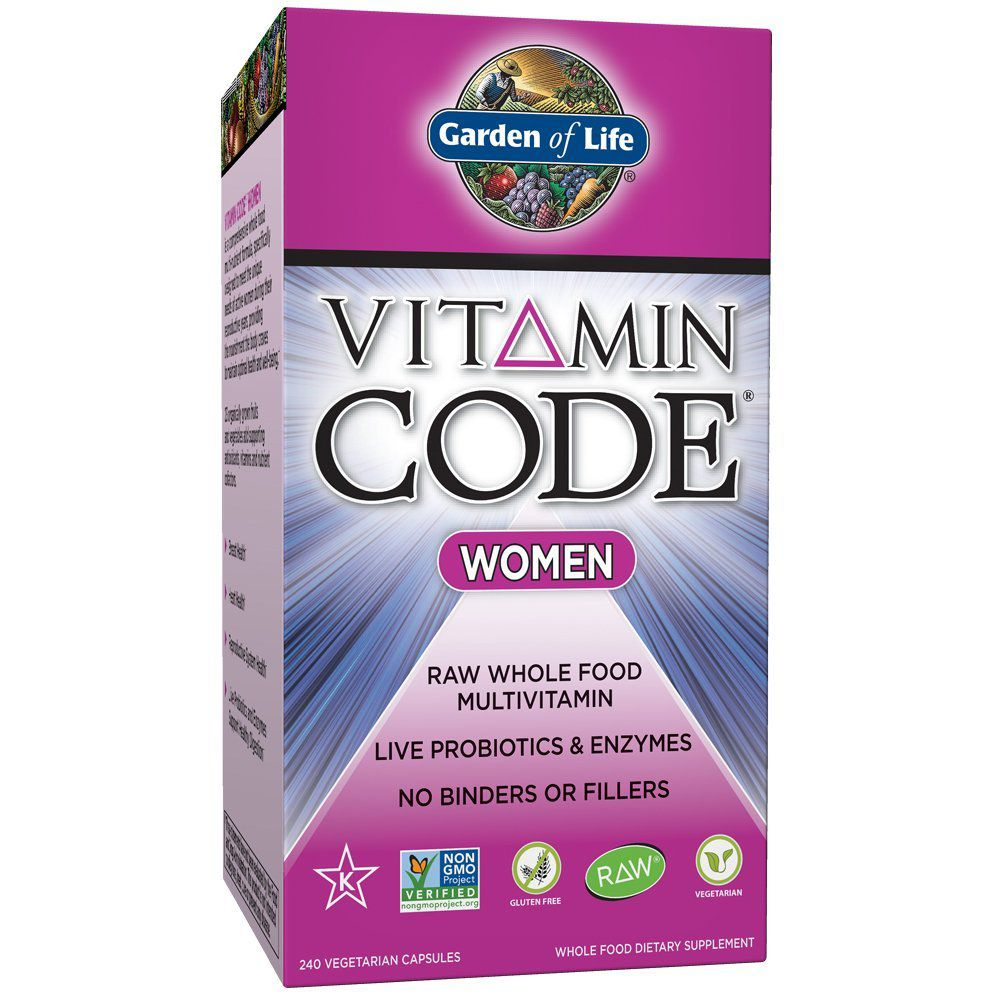 Box of vitamin code for women vitamins