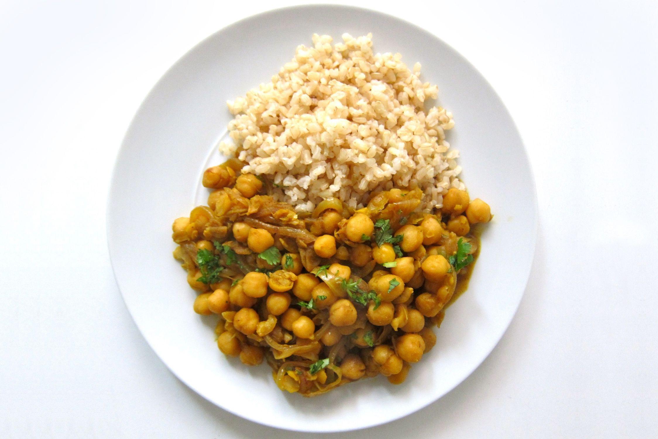 Trinidad Style Curried Channa Recipe
