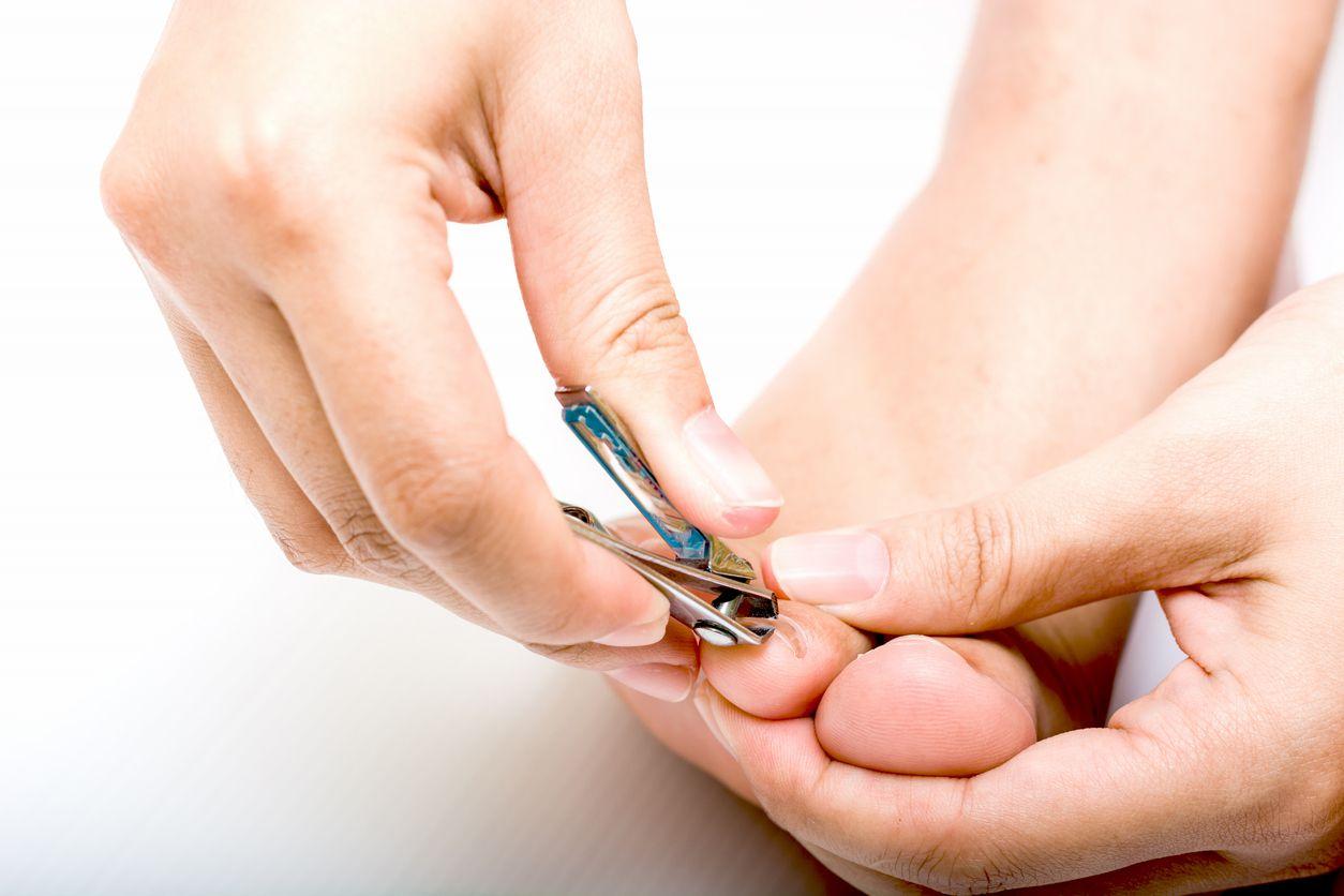 recorte de uñas de los pies
