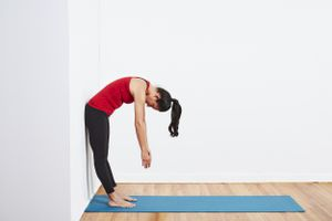 Standing Wall Roll Down
