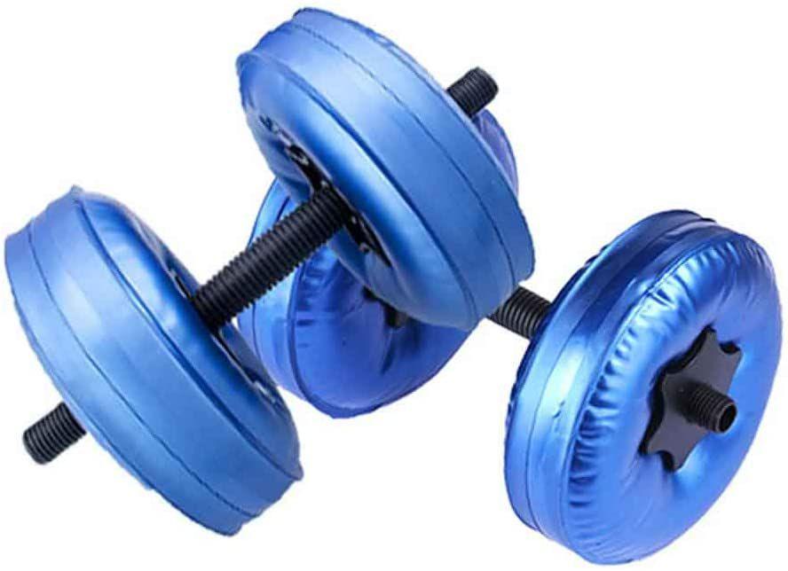 Mworld2 2Pcs/Set Portable Adjustable Water-Filled Dumbbell