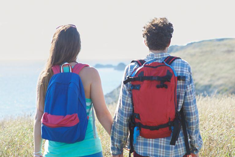 Wearing Backpacks on Walk