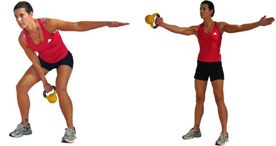 Kettlebell One Arm Swing