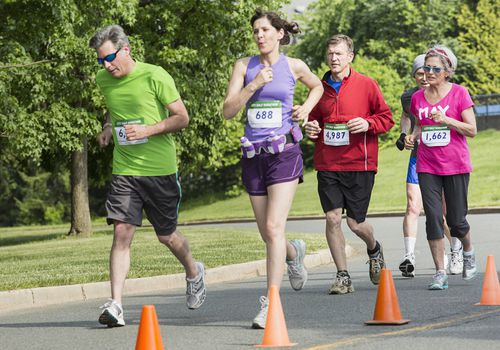 Corredores de media maratón