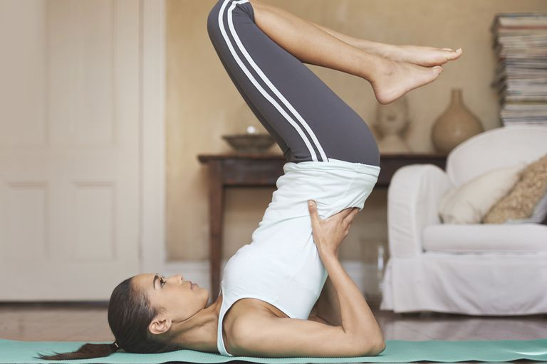 Doing Pilates at home