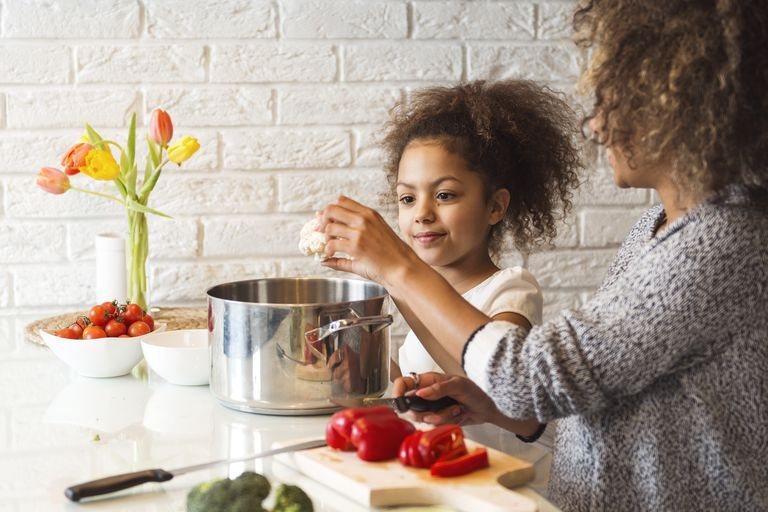 recommended vegetable servings per day by age
