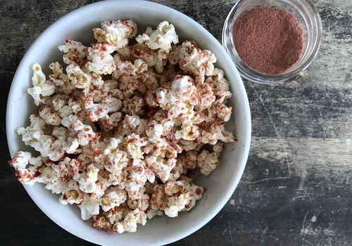 Cocoa Berry Popcorn