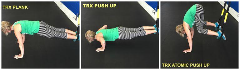 TRX Plank Progressions