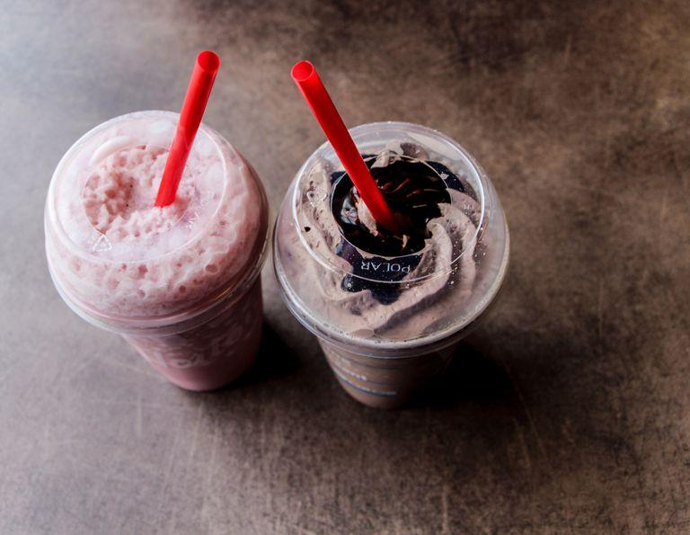 milkshake calories