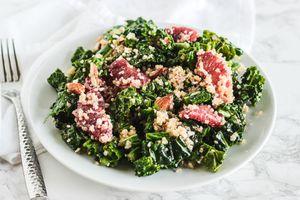 Blood Orange Quinoa Kale Salad