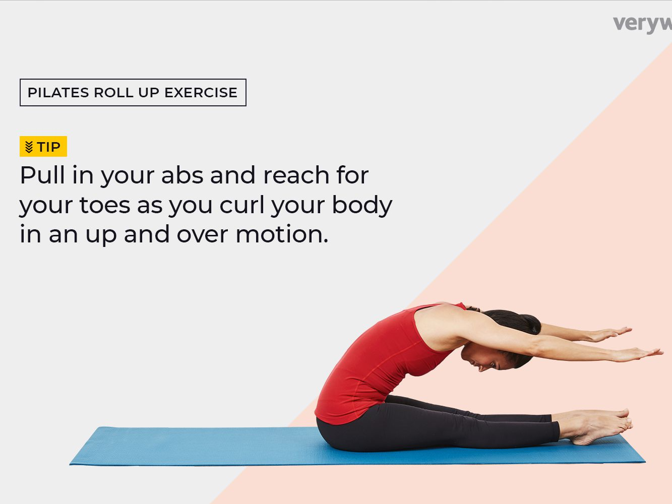 How To Do Roll Up In Pilates