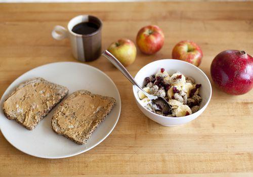 Comience con un desayuno fácil y saludable.
