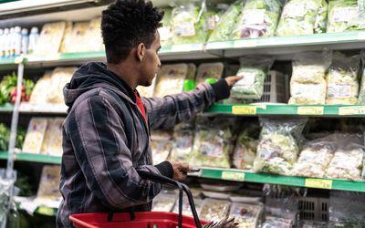 vegetarian shopping