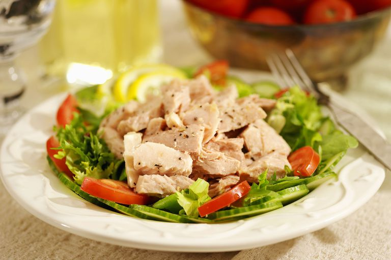 Fresh or canned tuna