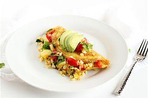 california summer omelet