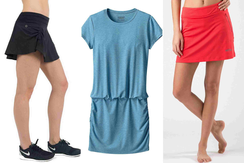 Faldas y vestidos deportivos con protección UPF