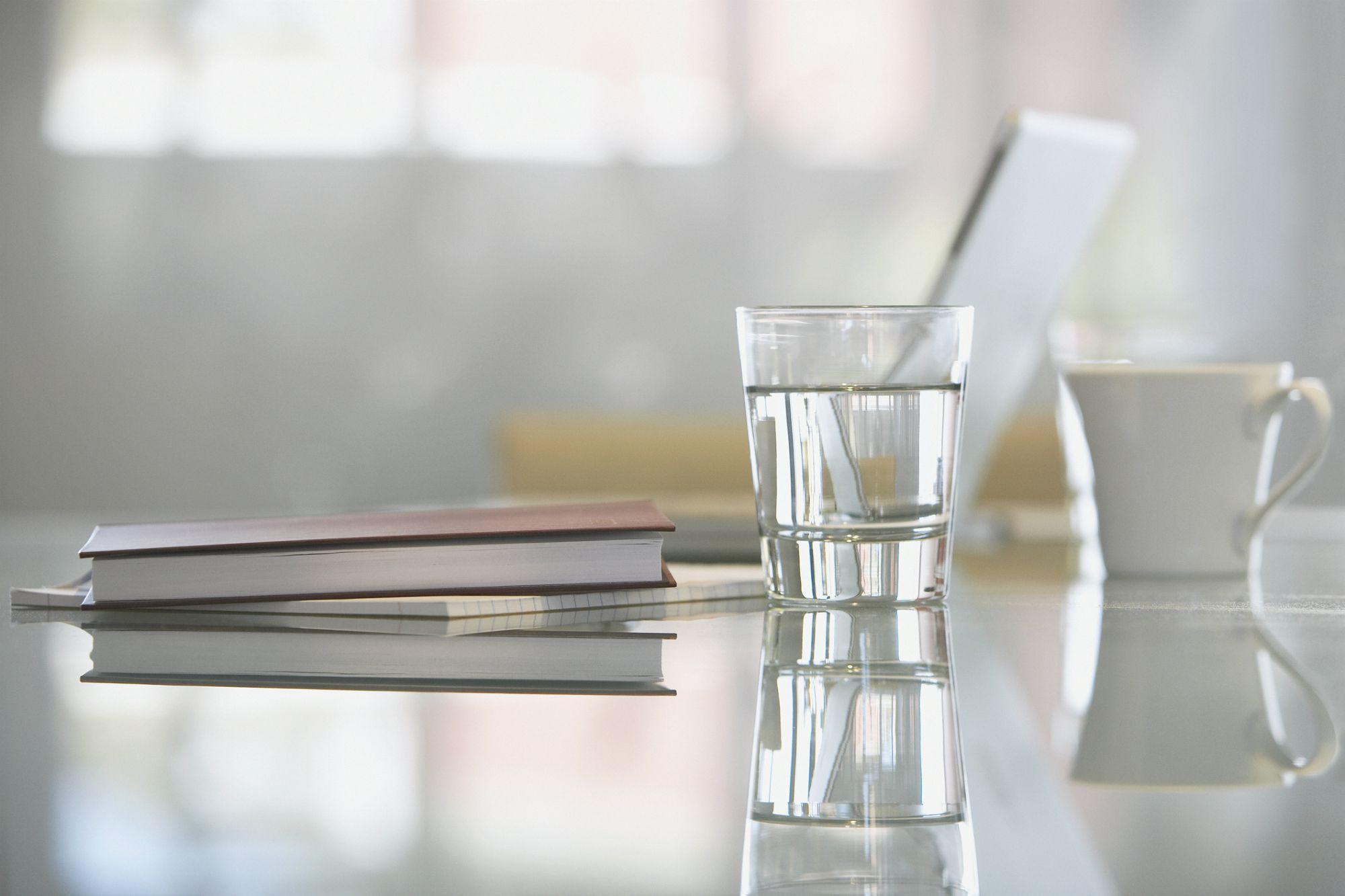 Water on desk