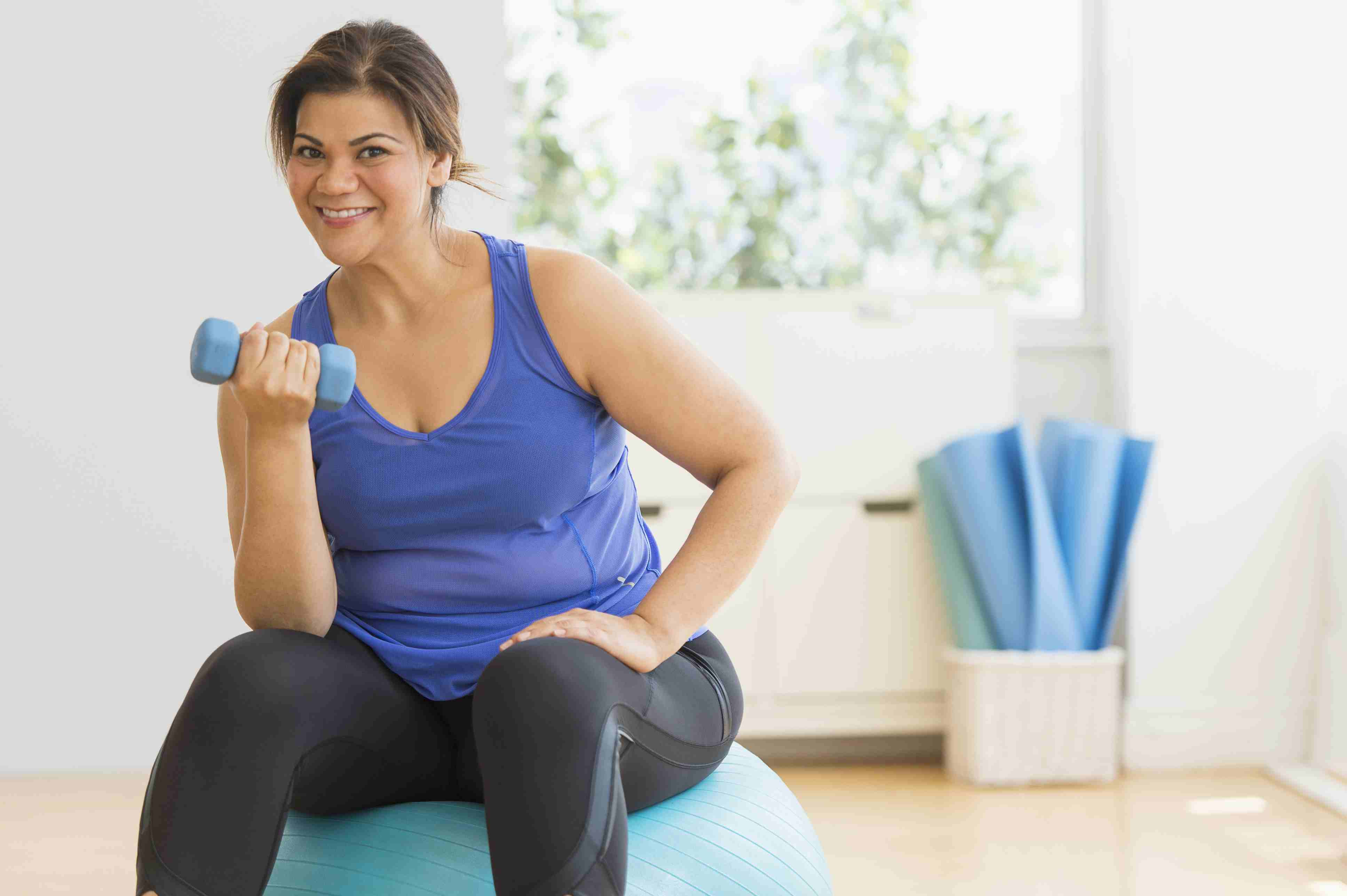 Seated Total Body For Overweight And Obese Exercisers