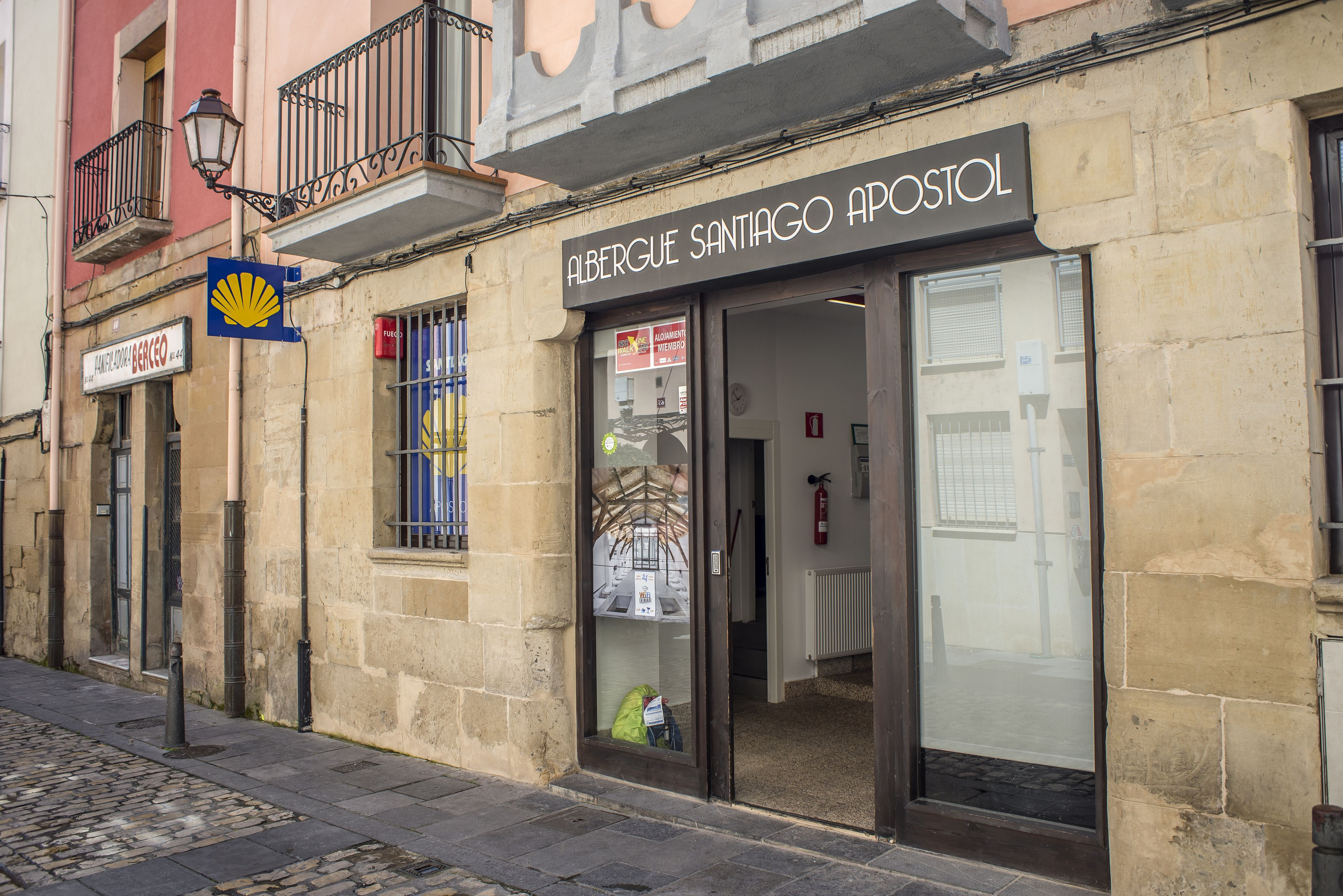 Pilgrims hostels of the Way of St. James in Logroño.