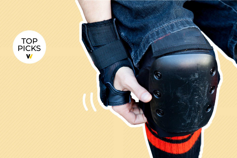 Skate Helmet Knie Pads Elbow Pads mit Handgelenkschoner für Skateboard