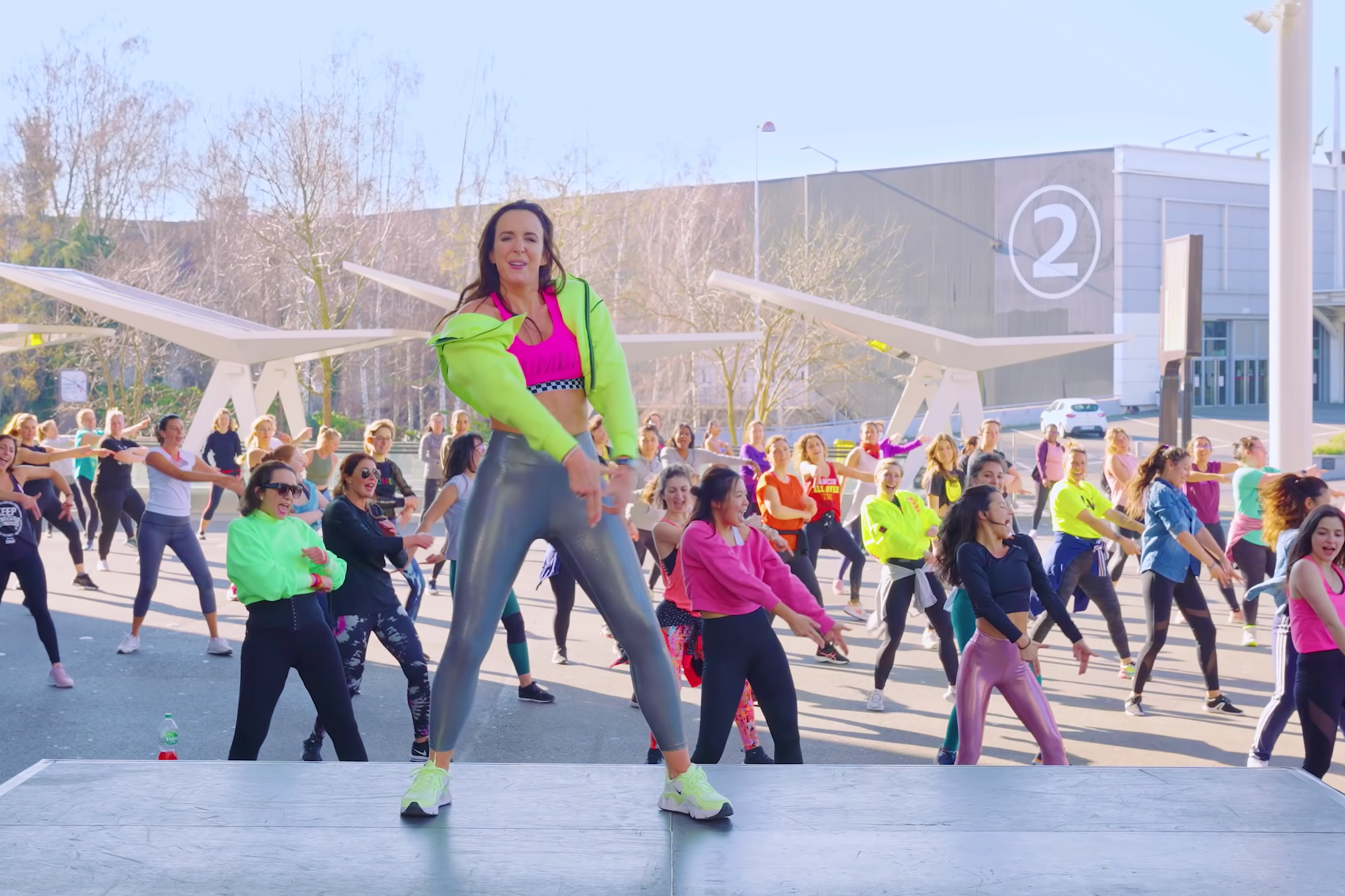 Zumba France with Alix