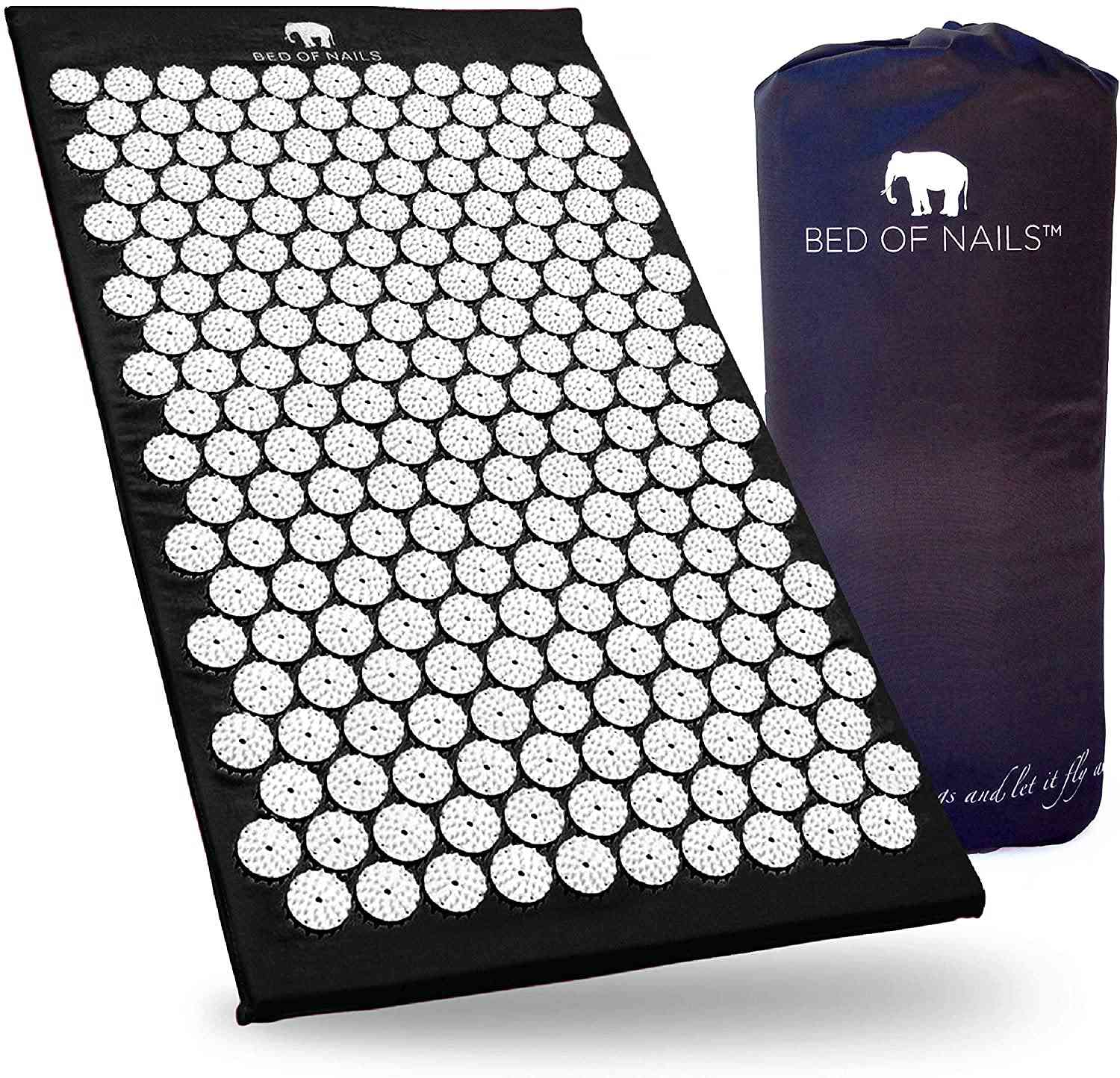 Bed of Nails Original Acupressure Mat for Back/Body Pain Treatment