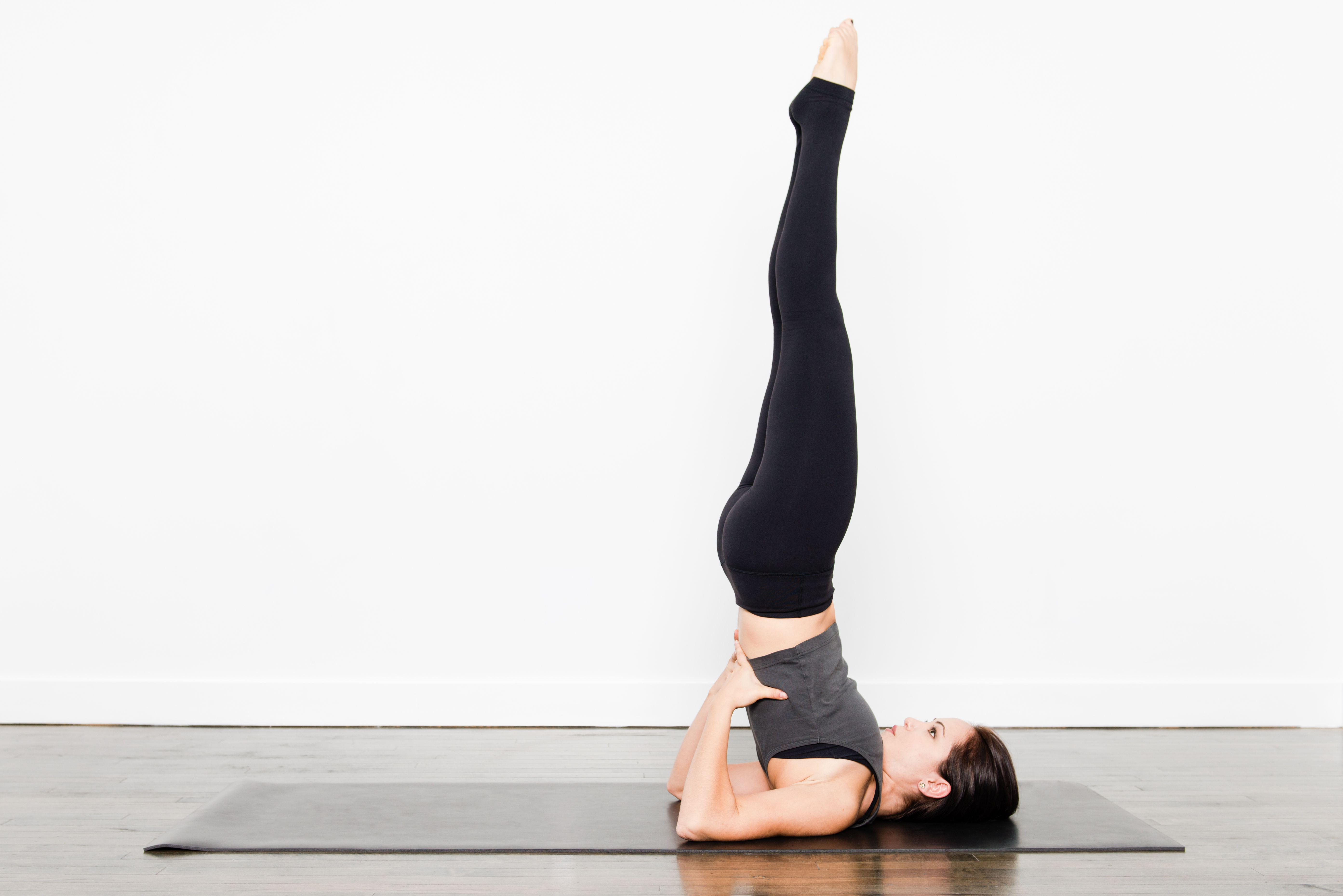 Shoulder Stand And Plow Pose
