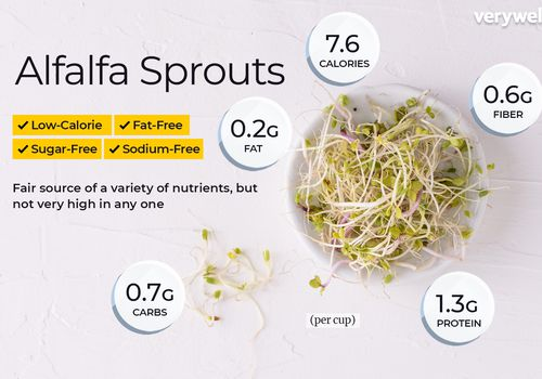 Alfalfa sprouts annotated