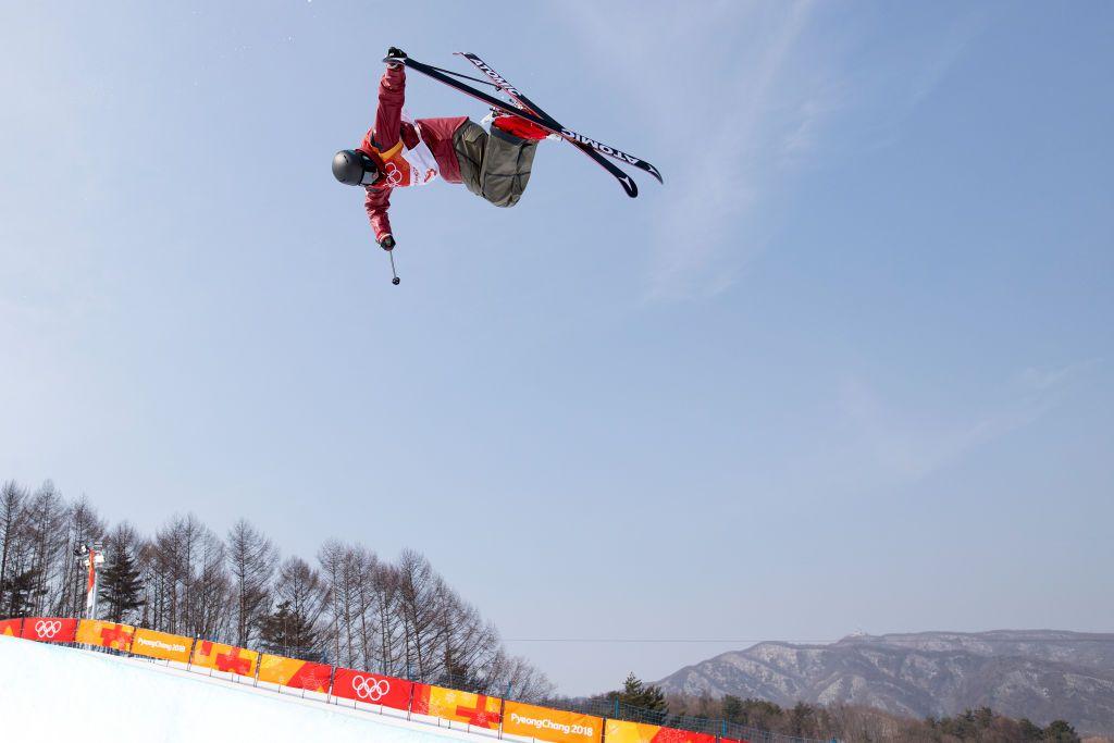 winter olympic sports training
