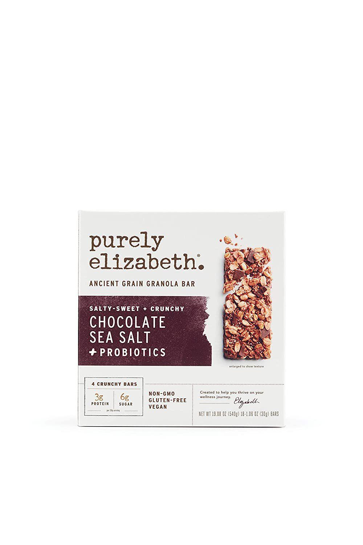 Purely Elizabeth Ancient Grain Chocolate Sea Salt Granola Bar